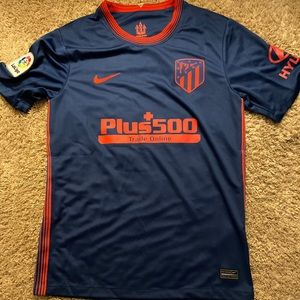 Atletico Madrid  20/21 Suarez Jersey Small